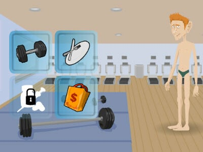Ultimate Douchebag Workout online game