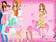 Pink Heart Dressup online hra