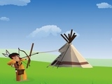 Tribal Shooter online game