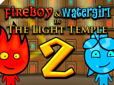 Fireboy & Watergirl 2 online hra