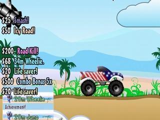 Truck Toss online hra