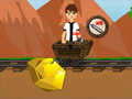 Ben 10 Gold Miner online game