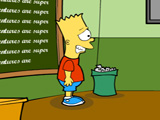 Bart Simpson Saw online game