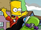 Bart Simpson Skateboarding online game