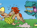 Caveman vs. Dinosaurus: Coconut Boom online game
