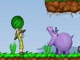Hippos Feeder online hra