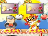 Superhero Pizza online hra