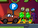 Cars vs Zombies online hra