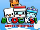 Blocks Merry Christmas online hra