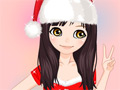 Christmas Make Up online hra