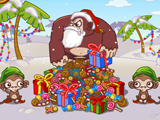 Monkey n Bananas 3: Christmas Holiday online game