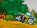Monster Truck vs. Forest online hra