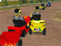 Lawnmower Racing 3D online hra