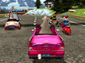 Madagascar 3: Race Across Europe online hra
