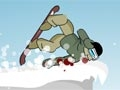 Downhill snowboard 2 online hra