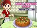 Sara's Cooking Class: Fruitcake online game