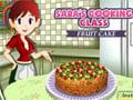 Sara's Cooking Class: Fruitcake online hra