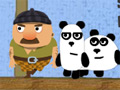 3 Pandas online hra