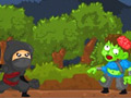 Ninja vs Zombie online game