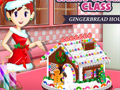Sara's Cooking Class: Gingerbread House online game