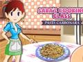Sara's Cooking Class: Pasta Carbonara online hra