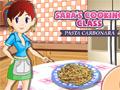 Sara's Cooking Class: Pasta Carbonara online game