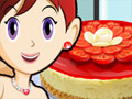 Sara's Cooking Class: Berry Cheesecake online game