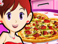 Sara's Cooking Class: Valentine Pizza online hra