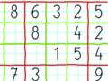 Paper Sudoku online game
