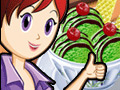 Sara's Cooking Class: Green Tea Ice Cream online game