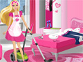 Barbie Party Cleanup online hra