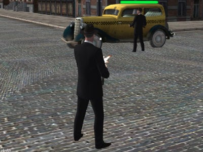 Downtown 1930s Mafia online game