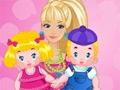 Barbie Twins Babysitter online game