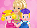 Barbie Twins Babysitter online game