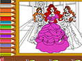 Barbie Coloring online game