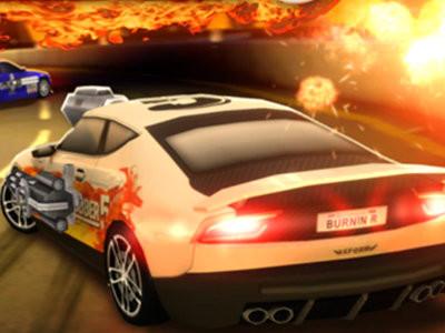 Burnin' Rubber 5 online game