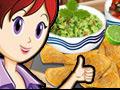 Nachos & Dip: Sara's Cooking Class online game