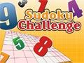 Sudoku Challenge online hra