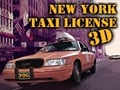 New York Taxi License 3D online game