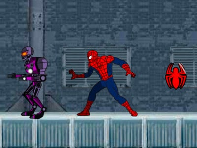 Ultimate Spider-Man: Iron Spider online hra