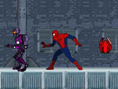 Ultimate Spider-Man: Iron Spider online game