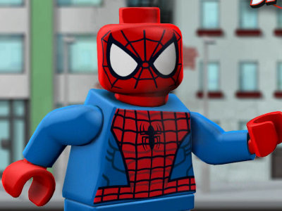 Lego Marvel Ultimate Spider-Man oнлайн-игра