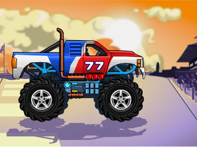 Monsters' Wheels online game