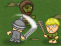 Knights vs Zombies online hra
