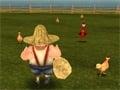 Chicken Run 3D online hra