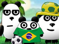 3 Pandas in Brazil online game