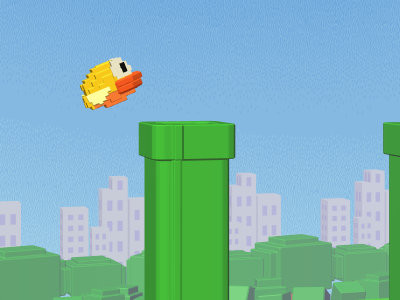 Flappy 3D online game