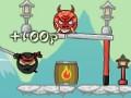 Ninja Cannon Retaliation online hra