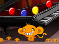 Monkey Go Happy Balloons online hra