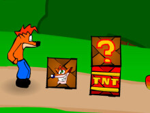 Crash Bandicoot online hra